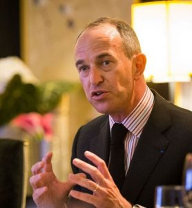 Jean-Guillaume Prats, president of Moet Hennessy's wine division.